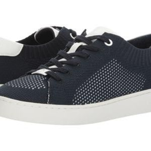 SKYLER LACE UP FABRIC ADMIRAL/OPTIC WHITE WOMEN